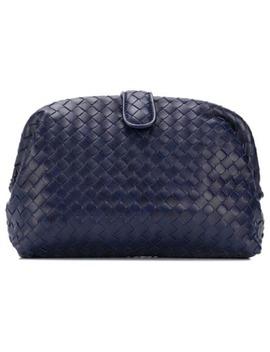 Woven Clutch Bag by Bottega Veneta