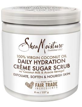 100% Virgin Coconut Oil Crème Sugar Scrub by Shea Moisture