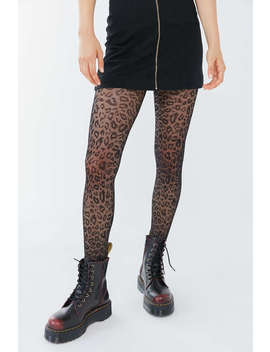 Uo Animal Print Tight by Urban Outfitters