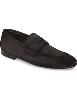 Enzo Apron Toe Penny Loafer by To Boot New York