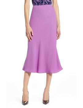 Bias Cut A Line Skirt by Halogen®