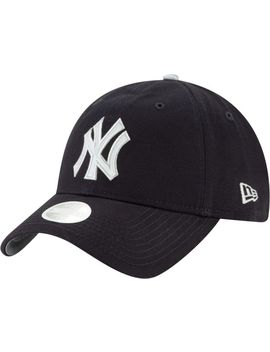 New Era Women's New York Yankees 9 Twenty Bow Back Adjustable Hat by New Era