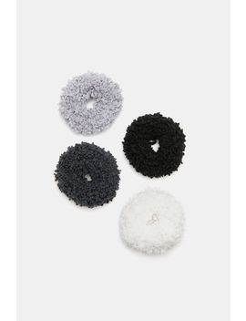 Pack Of Chunky Scrunchies by Ardene