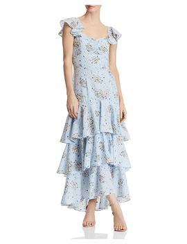 Floral Print Tiered Maxi Dress   100% Exclusive by Aqua