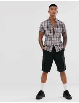 Asos Design Slim Check Shirt by Asos Design
