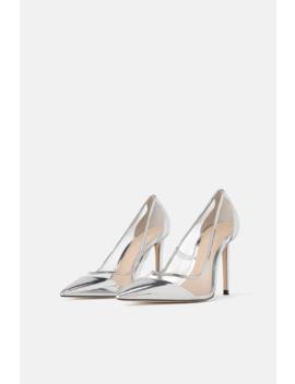 Chaussures À Talons En Vinyle  Tout Voir Chaussures Femme by Zara