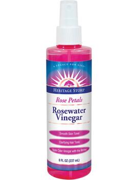 Rosewater Vinegar Spray by Heritage Store