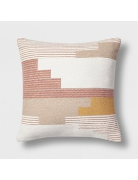 Southwest Geo Square Throw Pillow   Project 62 by Project 62