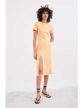 Printed Dress Dressestrf by Zara