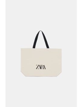 Sac Shopper Avec Logo  Tout Voir Sacs Femme by Zara
