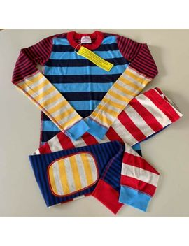 "Hanna Andersson Awesome Boy's ""Striped"" Pajama Set, 10 12 Years 150 Cm. So Comfy by Hanna Andersson"