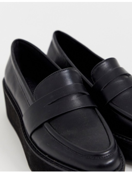 asos-design-medic-chunky-flat-shoes-in-black by asos-design