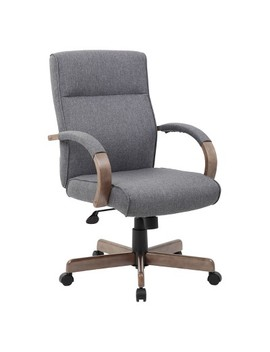 Modern Executive Conference Chair Gray   Boss by Boss