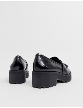 monki-tassel-detail-flatform-loafer-in-black by monki