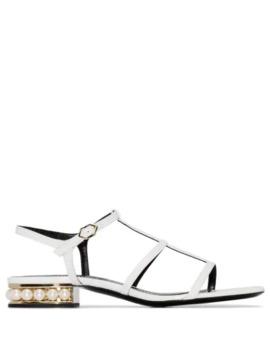 Casati Flat Sandals by Nicholas Kirkwood
