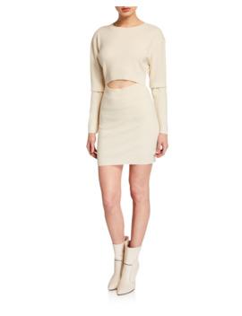 Devlin Wool Cashmere Cutout Dress by Iro