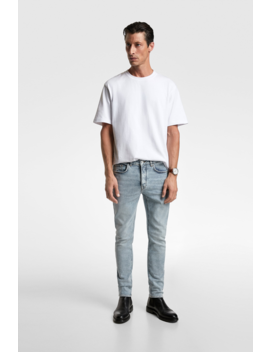 Slim Fit Jeans View All Jeans Man by Zara