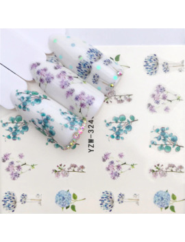 Ywk 1 Pc Flower / Animal Designs Water Transfer Sticker Nail Art Decals Diy Fashion Wraps Tips Manicure Tools by Ali Express.Com