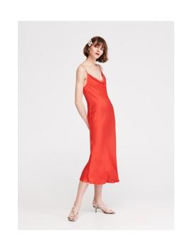 Saténově Lesklé šaty by Reserved