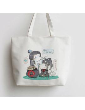 Grandmaster Of Demonic Cultivation The Founder Of Diabolism Anime Canvas Shopping Bag Tote Bags Handbag Book Cartoon Gift An073 by Ali Express.Com