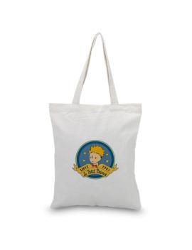 Canvas Tote Bag Little Prince Serial Custom Print Logo Text Daily Use Diy Eco Ecologicas Reusable Shopping Bag Recycle Handbag by Ali Express.Com
