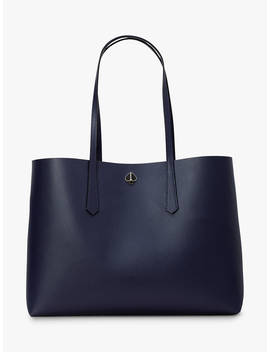Kate Spade New York Molly Leather Large Tote Bag, Blazer Blue by Kate Spade New York