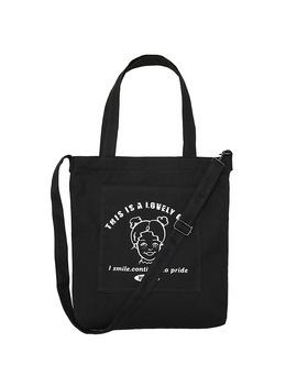 2019 New Female Shoulder Messenger Bag Small Fresh Literary Student Letter Print Canvas Bag Custom Green Shopping Bag by Ali Express.Com