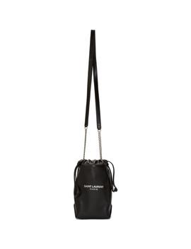 Black Small Teddy Bucket Bag by Saint Laurent