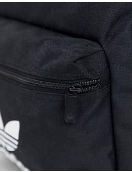 Adidas Originals Logo Backpack In Black by Adidas Originals