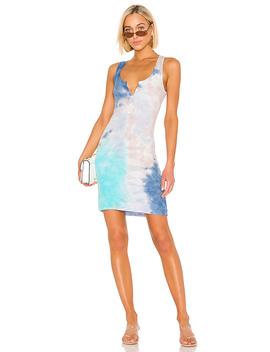 Runner Dress In Galaxy Wash by Michael Lauren