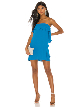 Tally Dress In Electric Teal by Amanda Uprichard