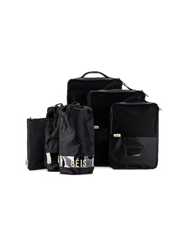 Packing Cube Set In Black by Beis