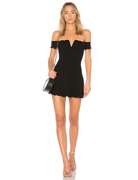 Ophelia Dress In Black by Majorelle