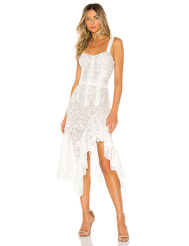 Tiffany Blanc Dress In White by Bronx And Banco