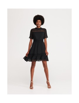 Plumetis Dress by Reserved
