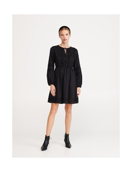 Dress With Openwork Pattern by Reserved