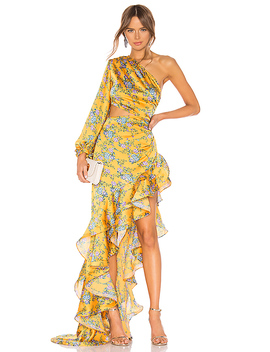 Hanna Gown In Multicolor by Bronx And Banco