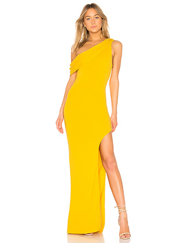 Marigold Gown In Marigold by Lovers + Friends