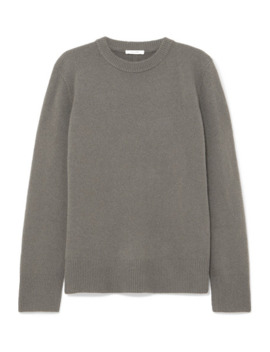 Sibina Wool And Cashmere Blend Sweater by The Row