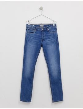 Jack & Jones Slim Tapered Fit Jeans In Light Blue by Jack & Jones