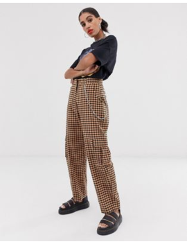 The Ragged Priest Gingham Pants With Chain Detail Co Ord by The Ragged Priest