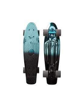 """Blue Black Metallic Fade 22"""" by Penny Skateboards"""