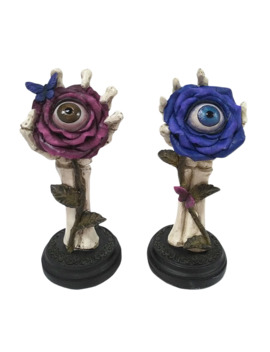 eyeball-flower-with-skeletal-stand-by-ashland by michaels