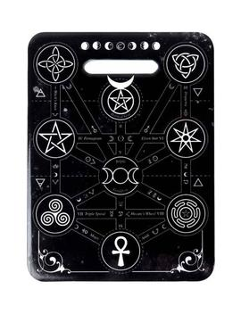 Magic Symbols | Ceramic Trivet by Alchemy Gothic