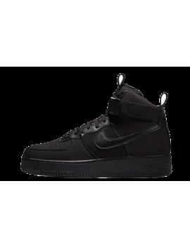 Nike Air Force 1 High Canvas Triple Black | Ah6768 001 by The Sole Supplier