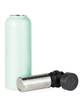 T2 Stainless Steel Flask Pearly Pale Green by T2 Tea