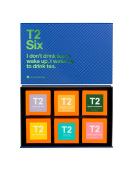 T2 Pick Your Six   Wake Up by T2 Tea