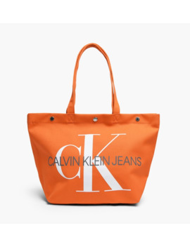 Canvas Utility Tote Bag by Calvin Klein Jeans