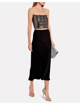 sequin-mesh-corset-top by michelle-mason