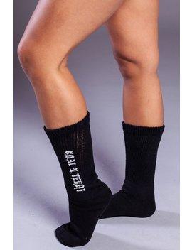 Mini Medi Socks   Blk N White by Coal N Terry